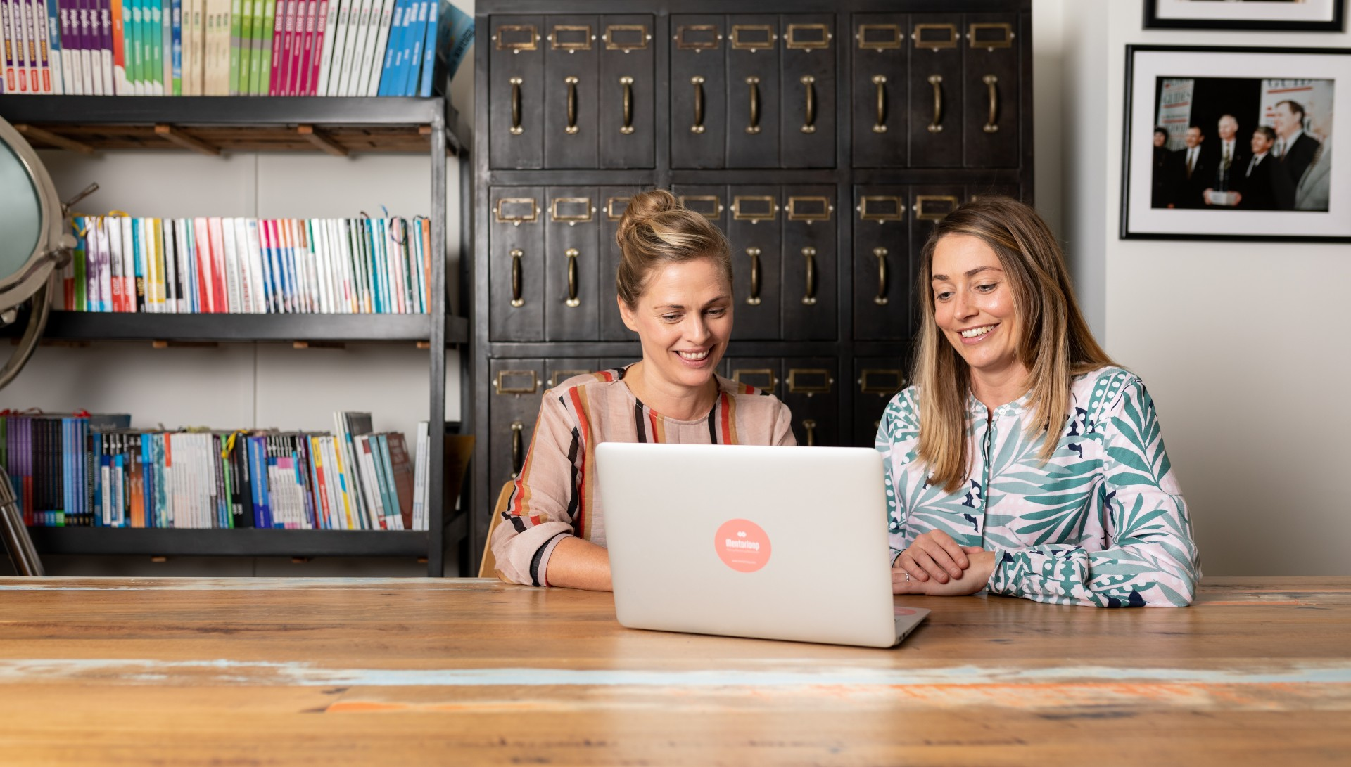 Mentorloop Co-Founders Lucy Lloyd and Heidi Holmes
