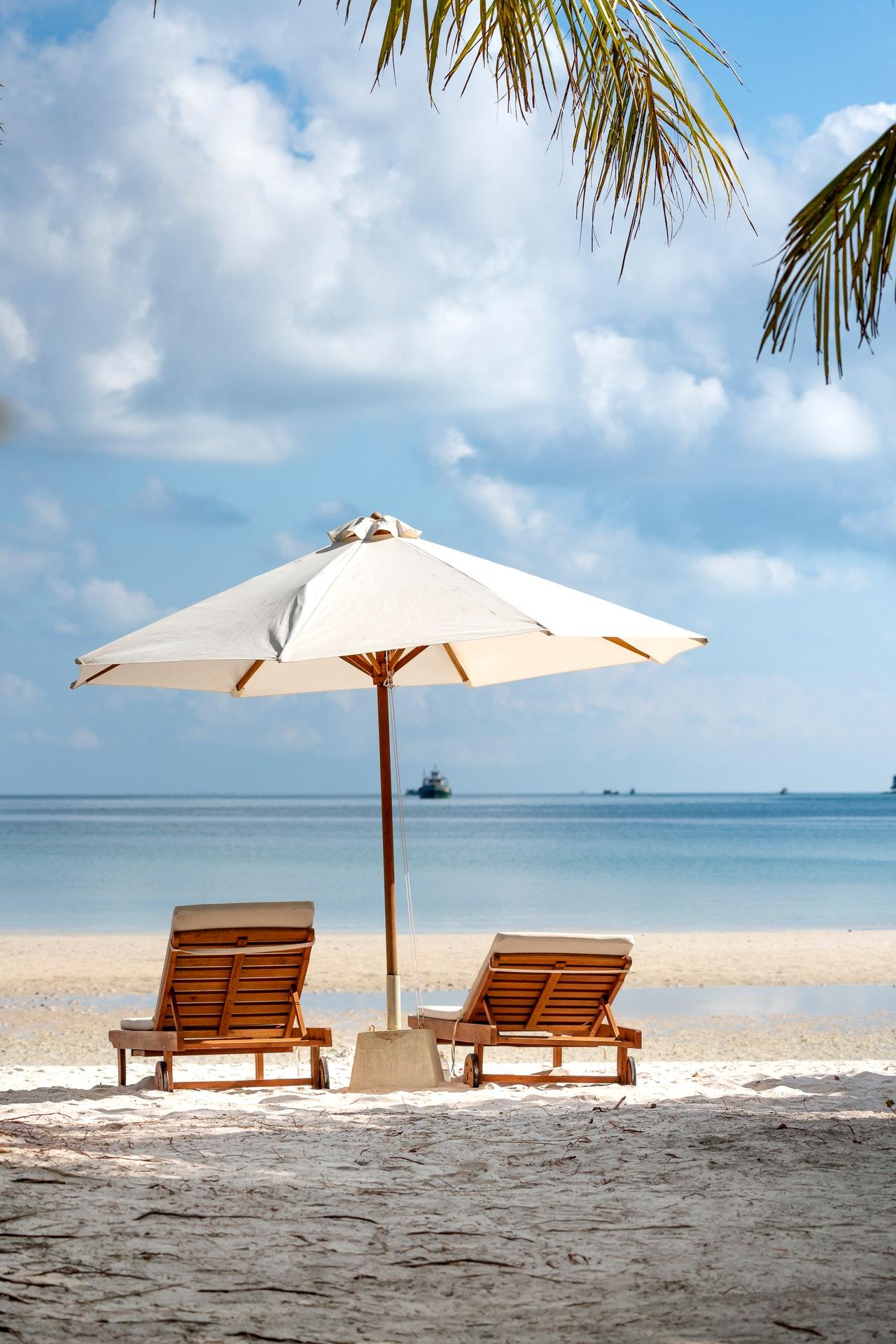 paradisical beach
