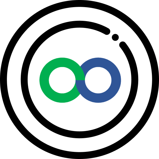Een Loop coin icoon