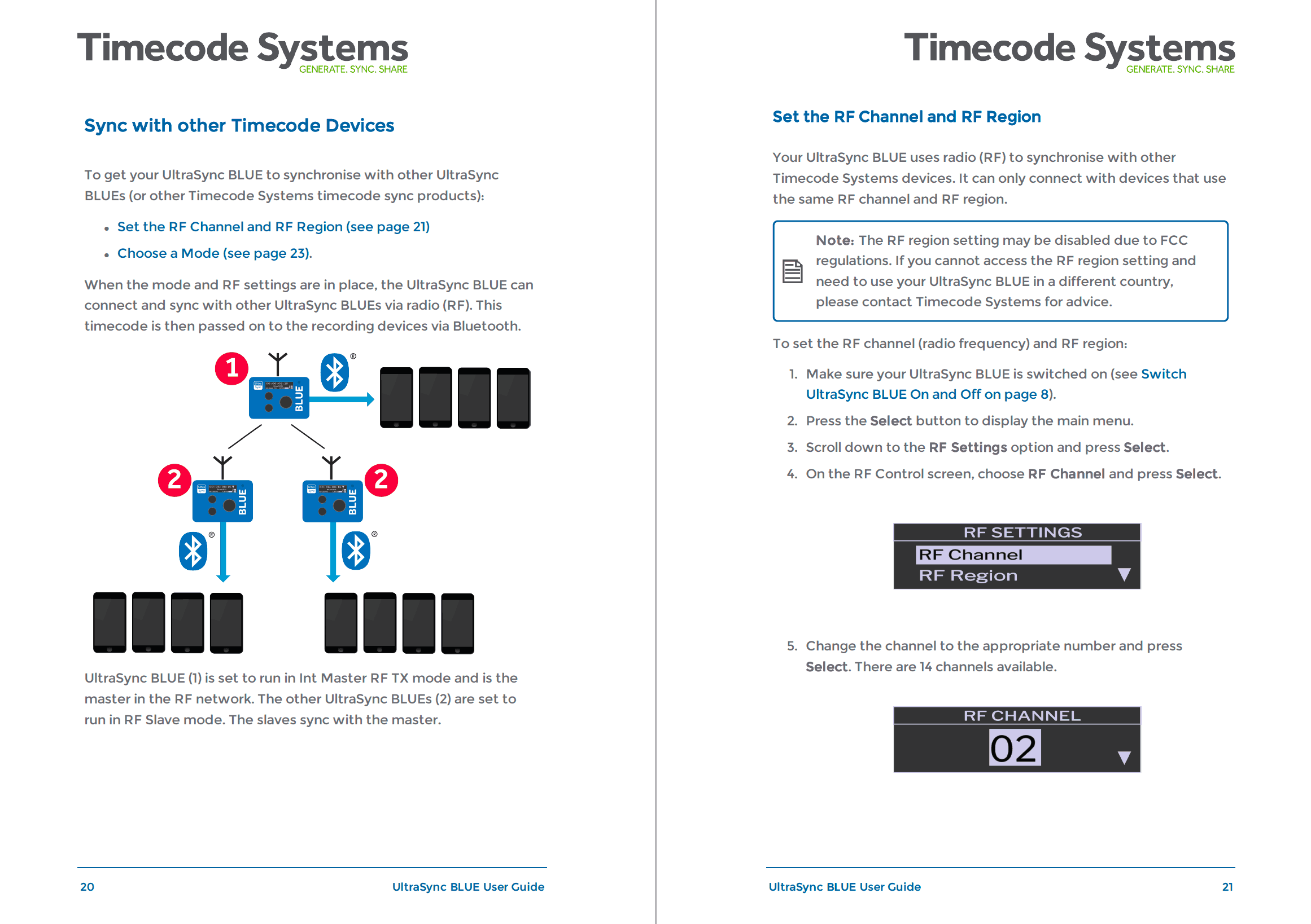 Timecode Systems user guide