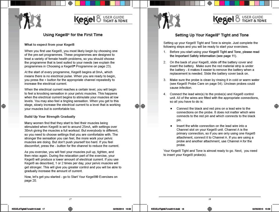 Kegel User Guide