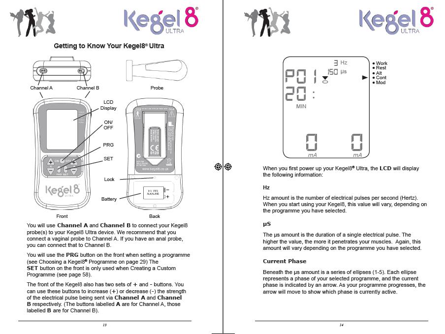 Kegel8 manual