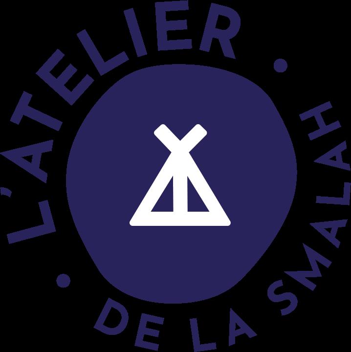 Logo de l'atelier de fabrication : un tipi