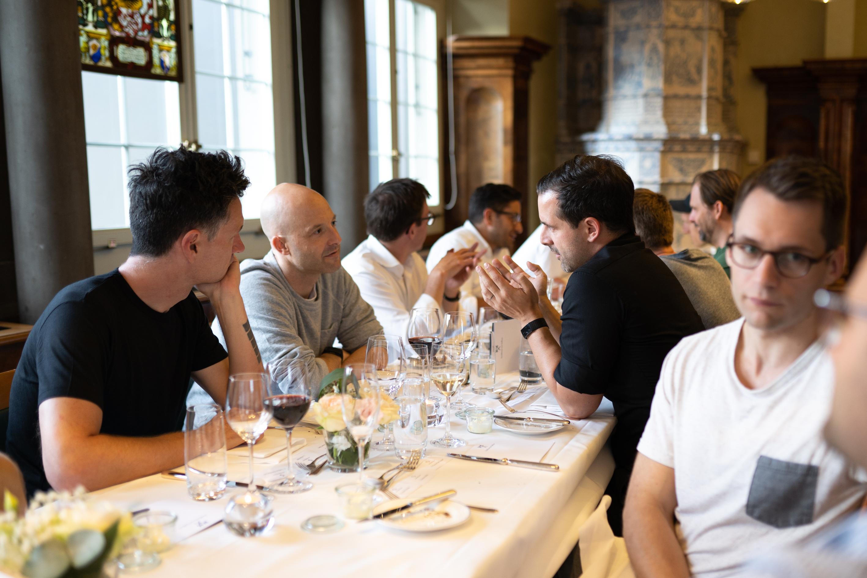Swisspreneur founders dinner a productive exchange amongst successful Swiss startup entrepreneurs