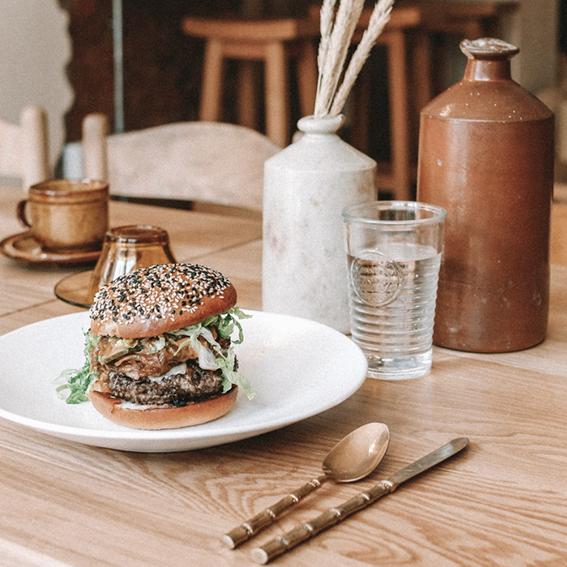 A seriously good burger