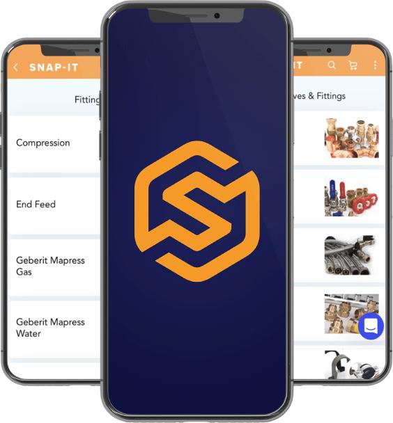 Snap it app homescreen