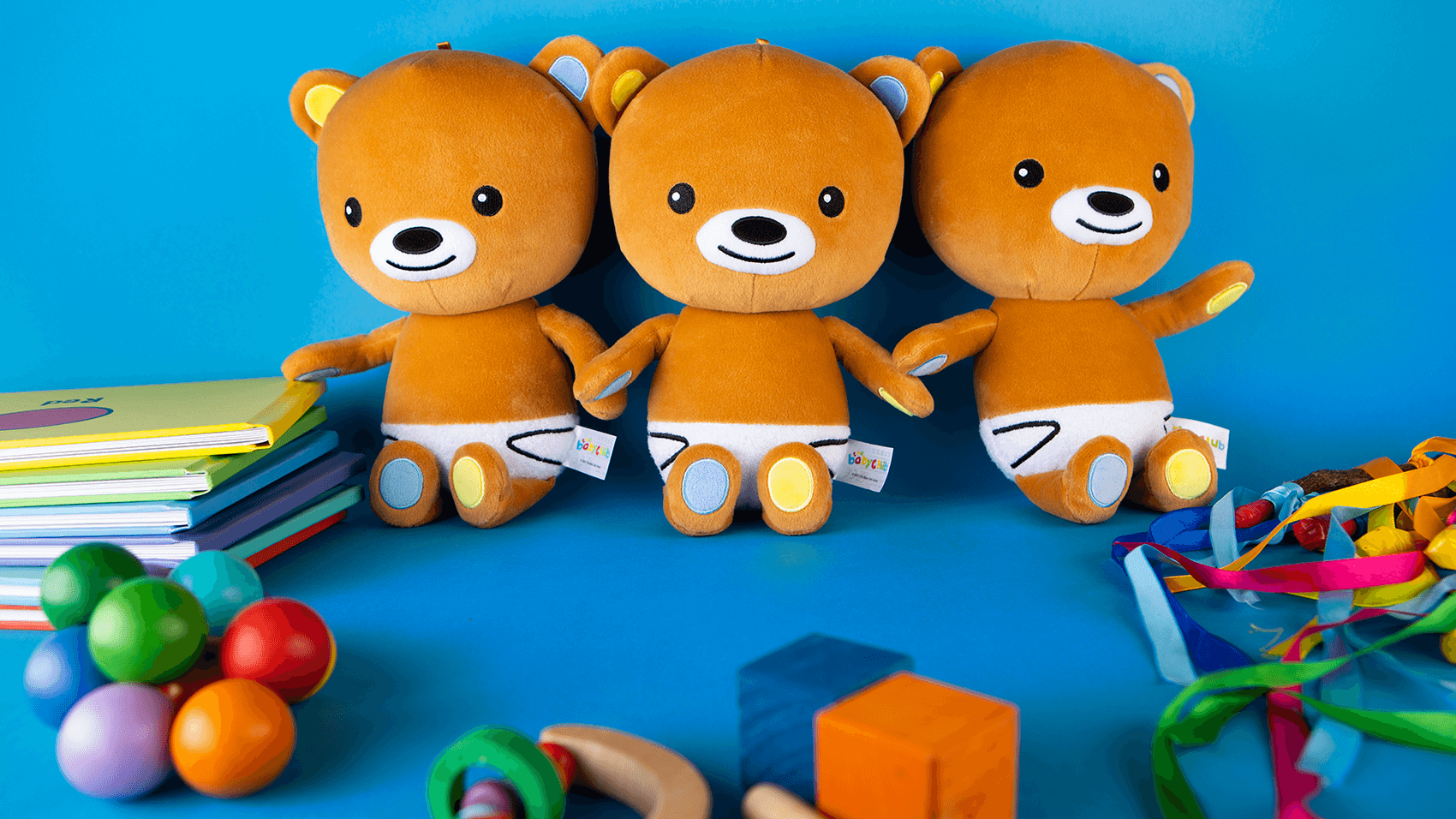 Baby Bear is now available as a plush soft toy character!