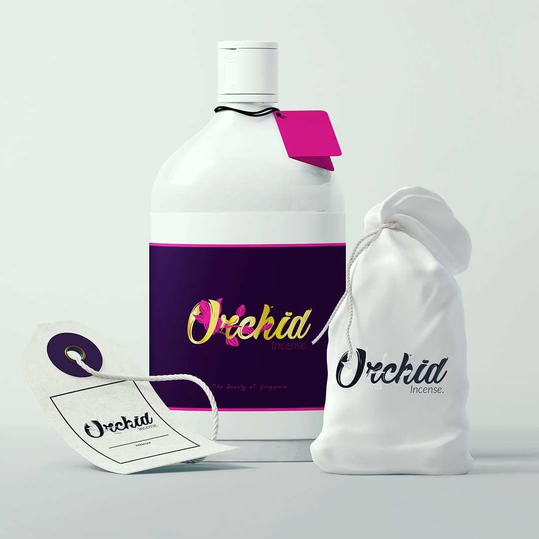 Design of orchid cosmetics