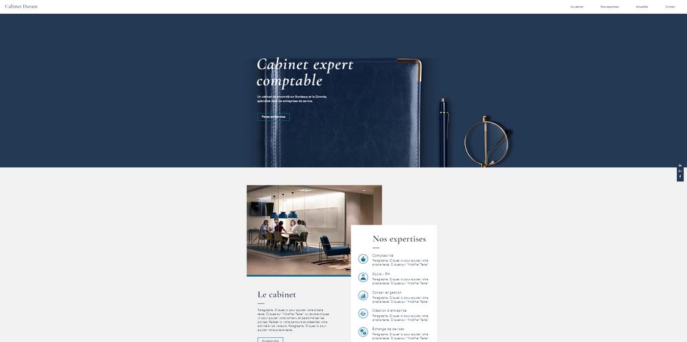 site internet cabinet expert-comptable