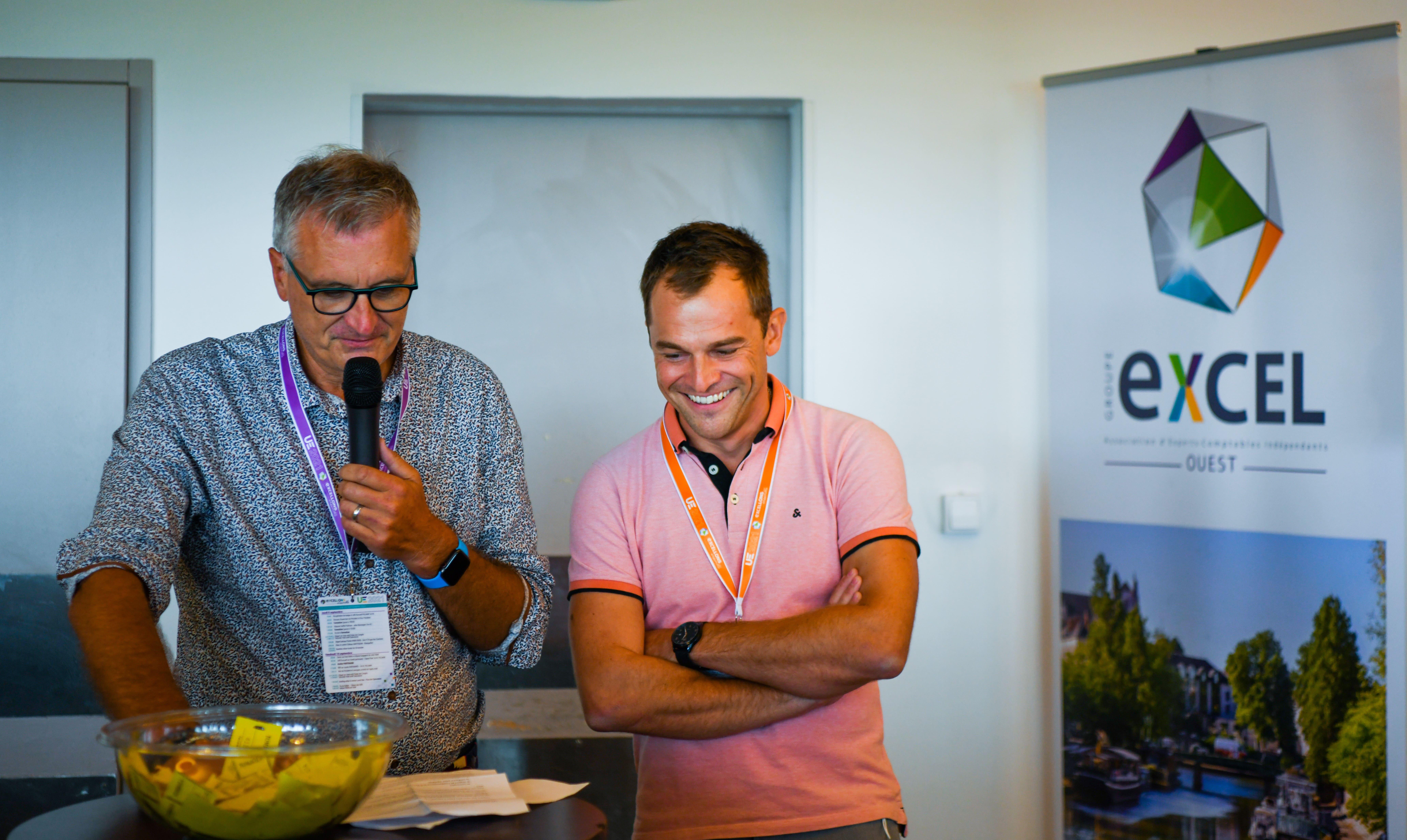 Gilles ROYER et Président et David KLEMM Vice-Président