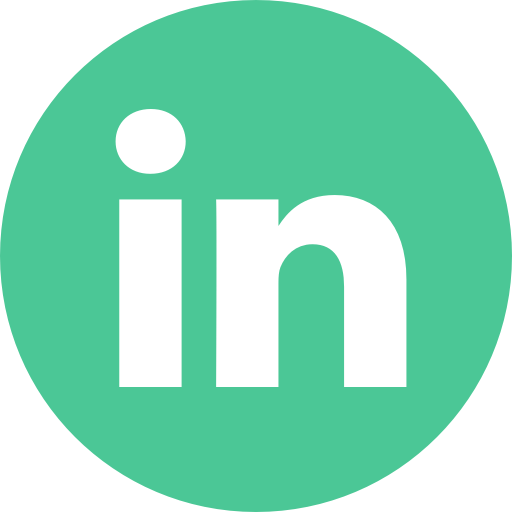 linkedin icon green