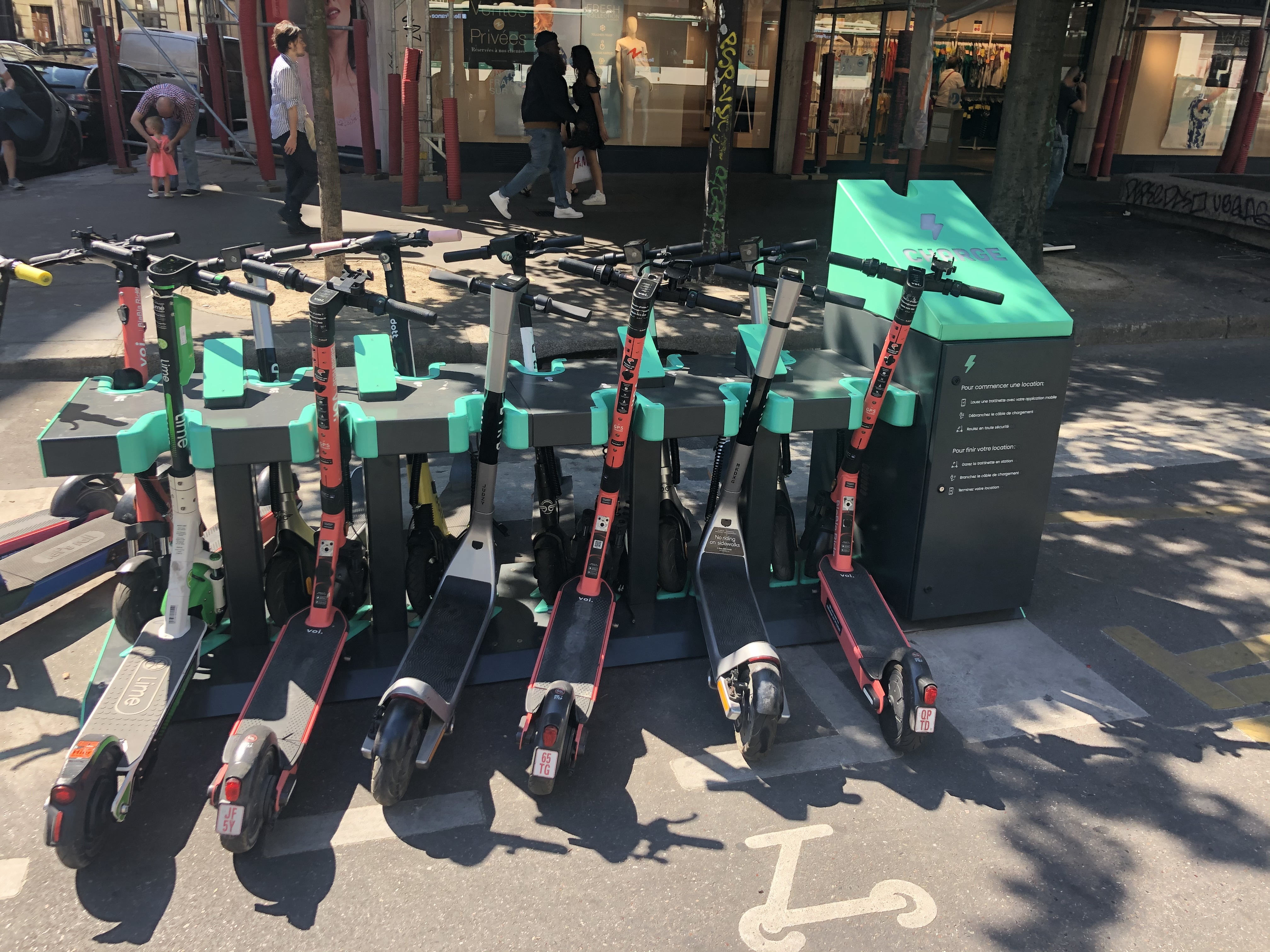 charge scooters image