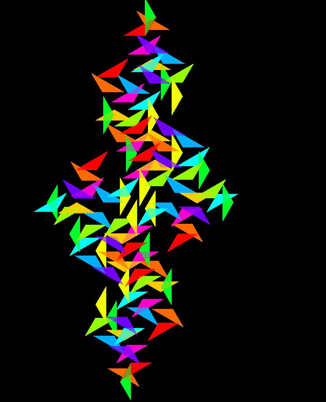 A impressionistic display of a Julia Set in the corporate colors of Julia Capital.