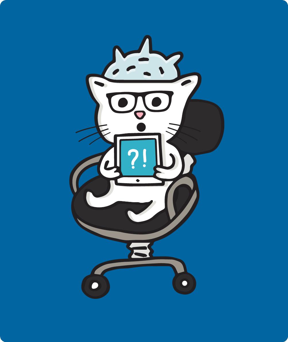 8Bit The Cat, the conspiracy theorist
