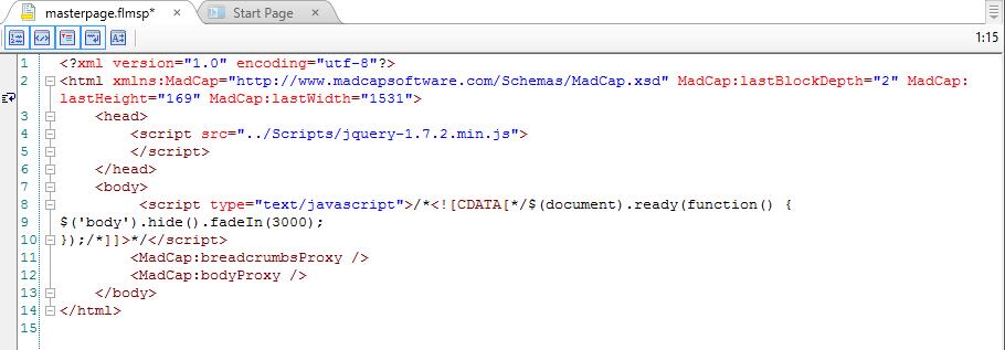 JavaScript in Flare