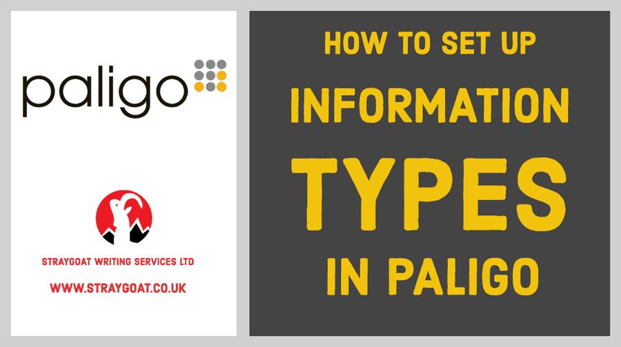 information types in paligo