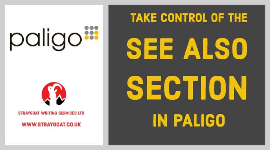 See also section in Paligo HTML5 output