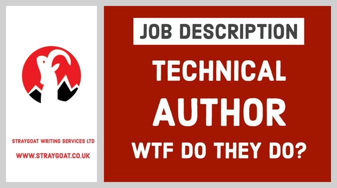 Technical author job description