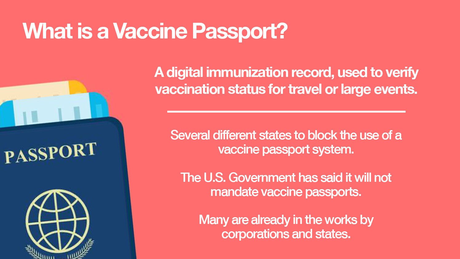 Vaccination Passports