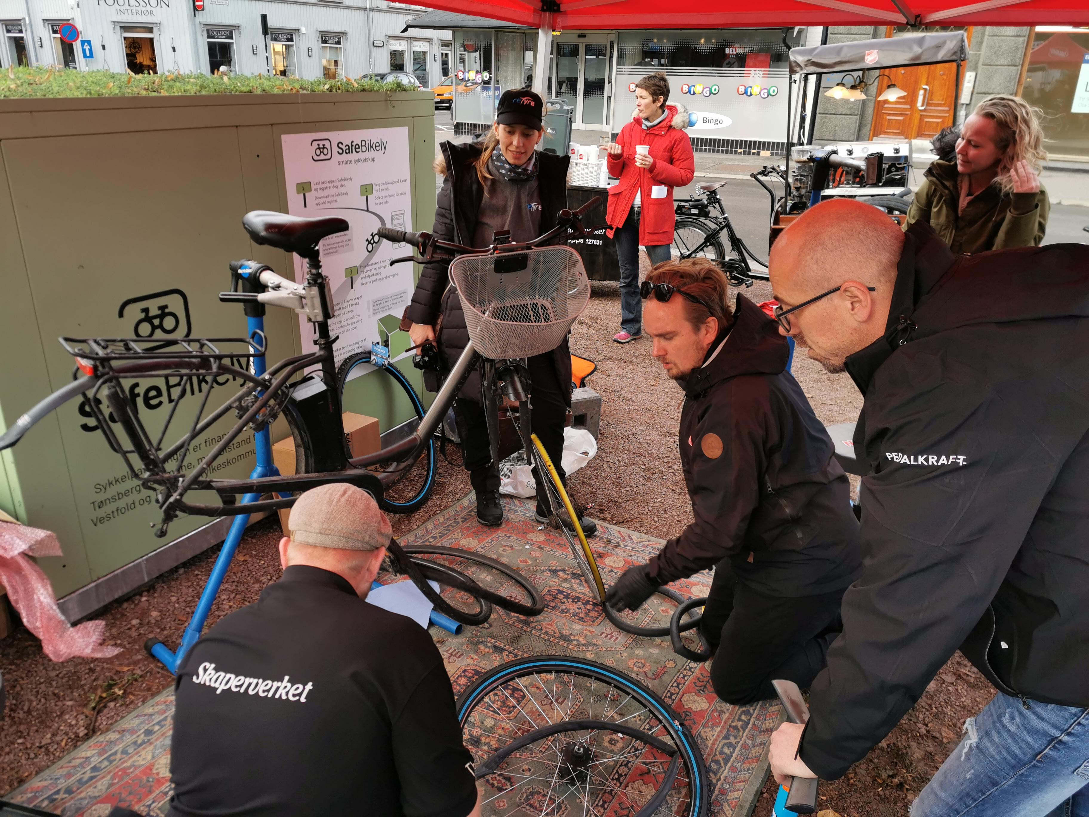 Sykkelen framstår som et av de tryggeste transportmidlene