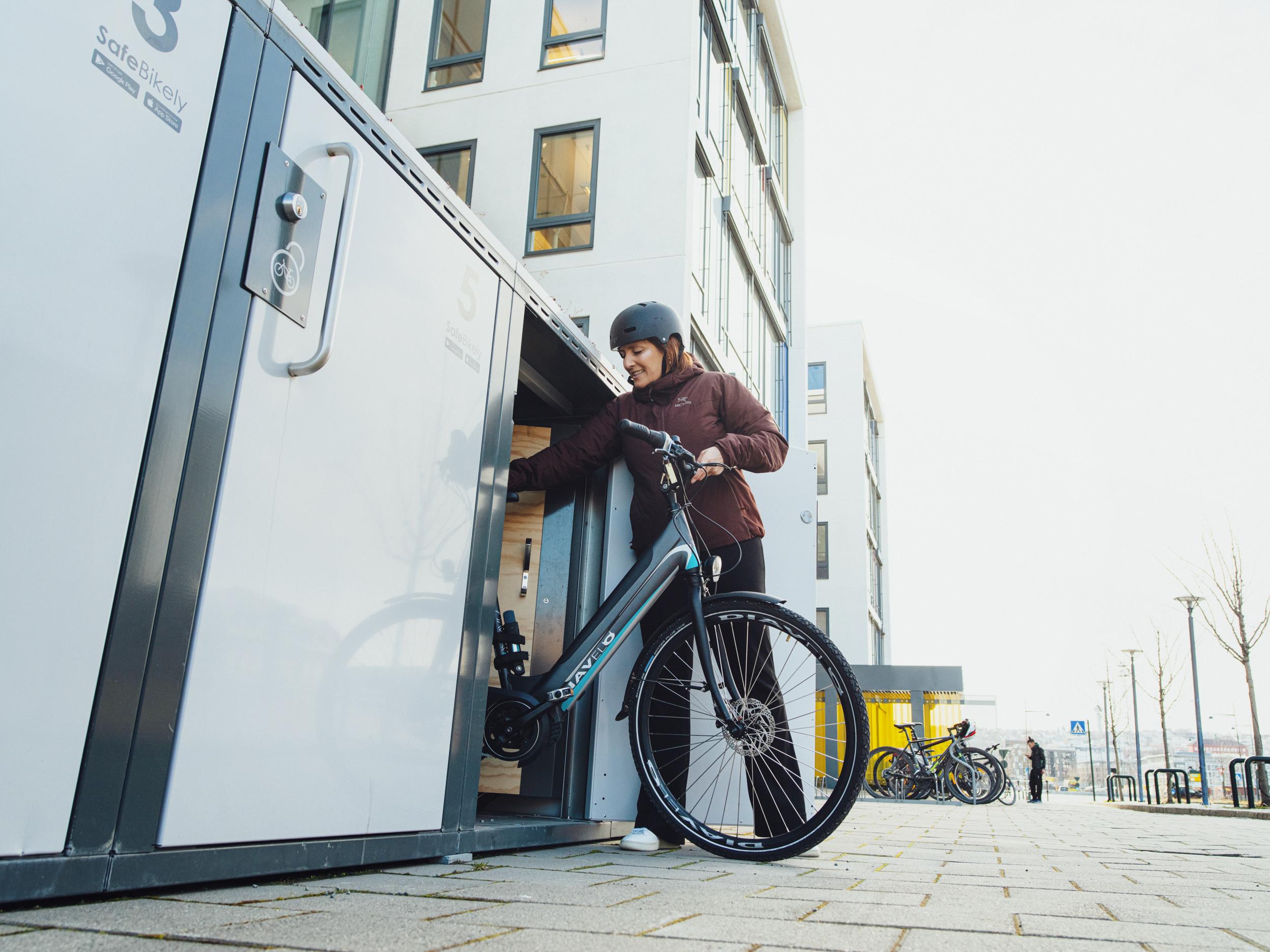Med Bikely kan byer bli mer bærekraftige