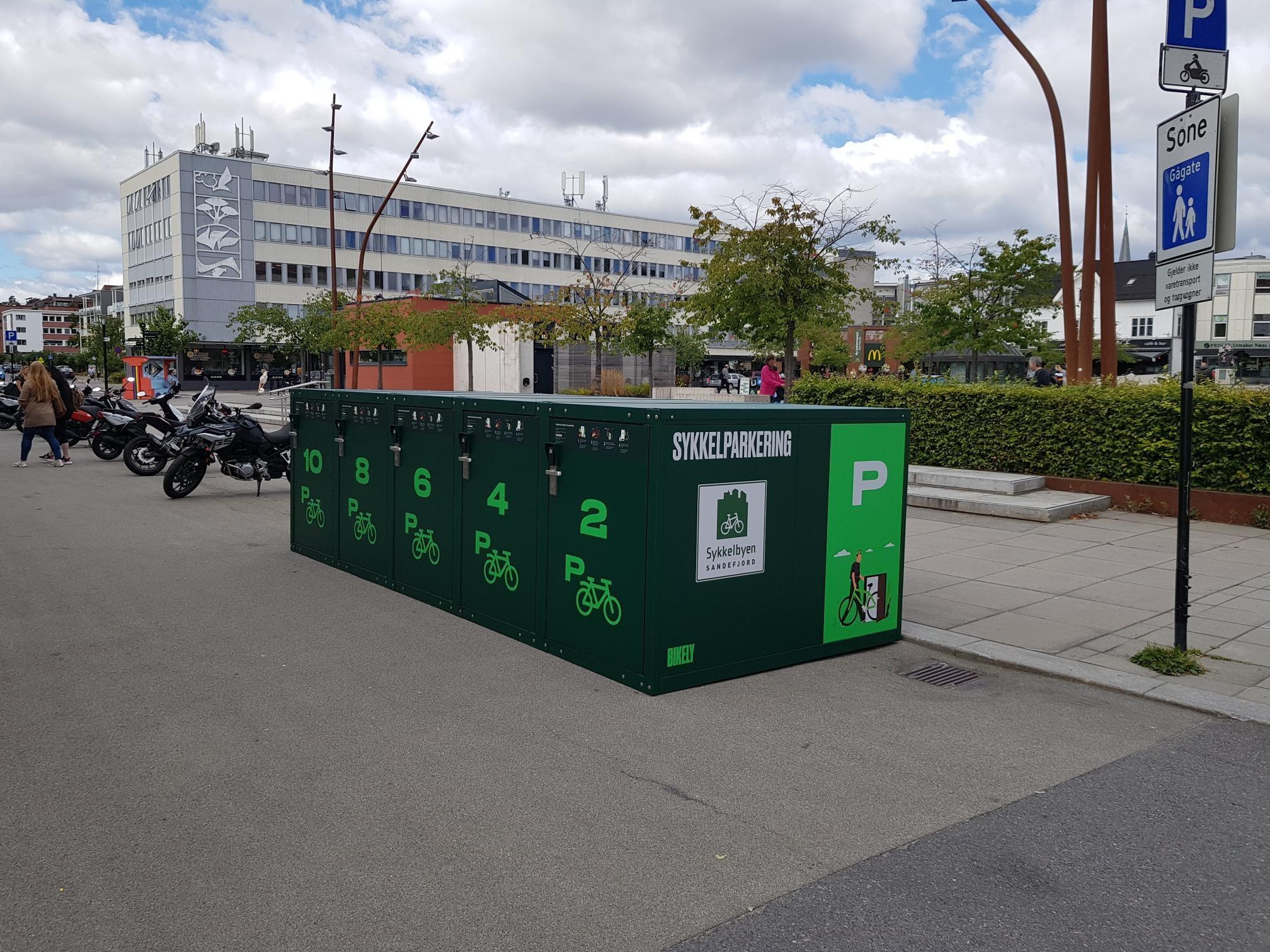 En tryggere sykkelparkering skal du se langt etter