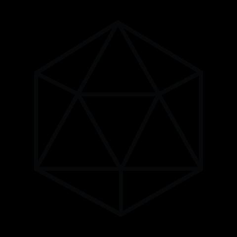 triniqua Symbol - black