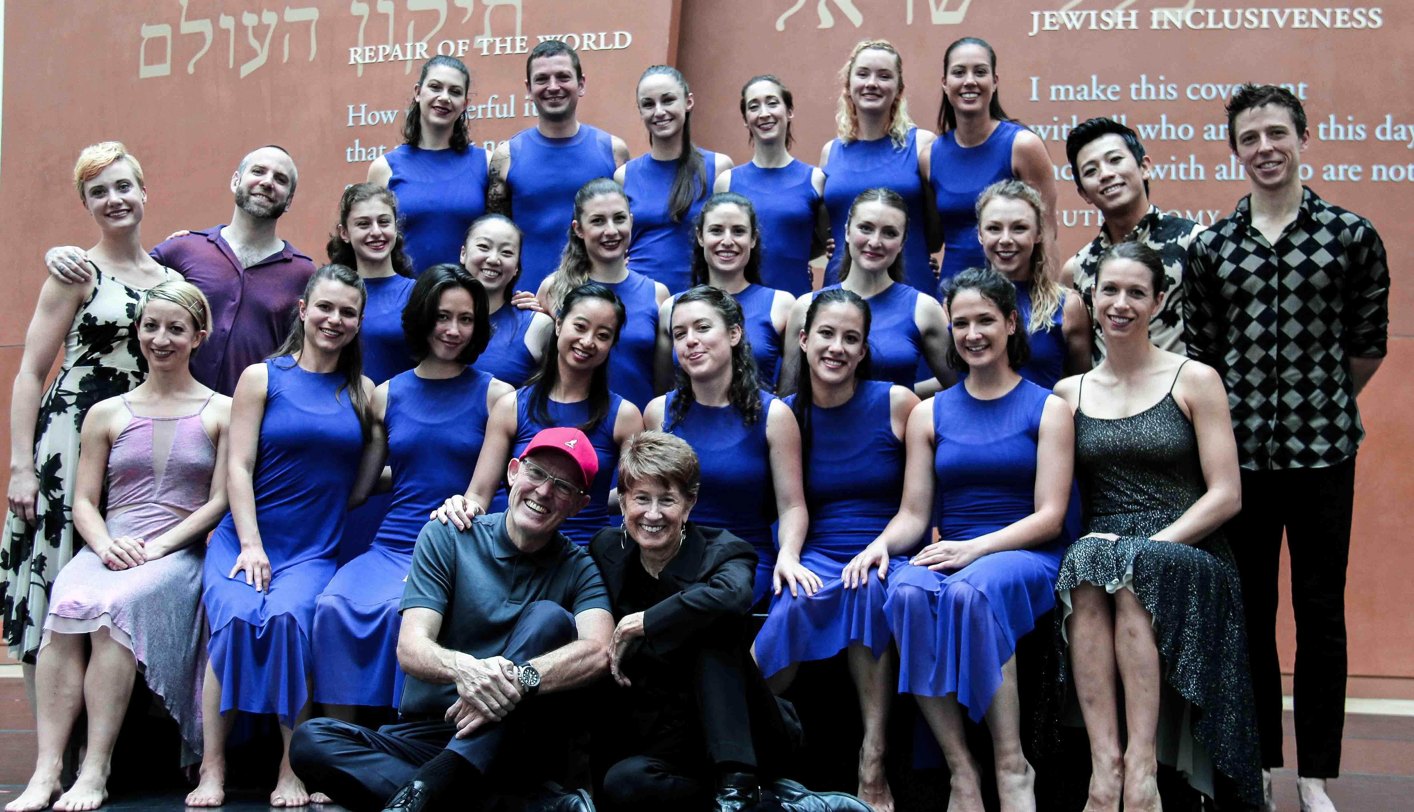 A Garrett+Moulton dance class