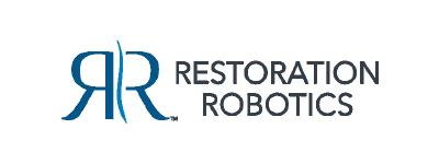 restoration robotics Logo partner of Speck Design