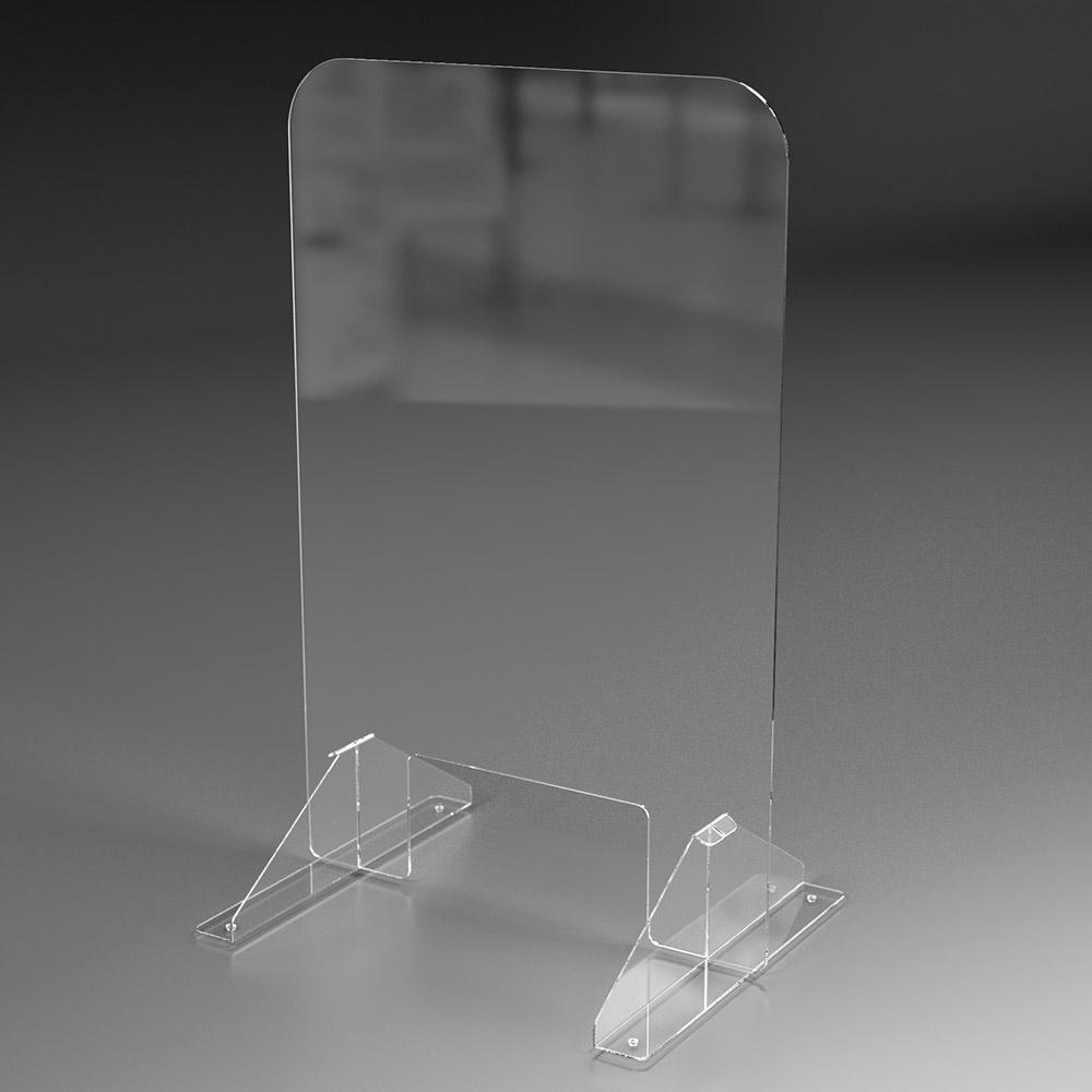 PPE acrylic shield