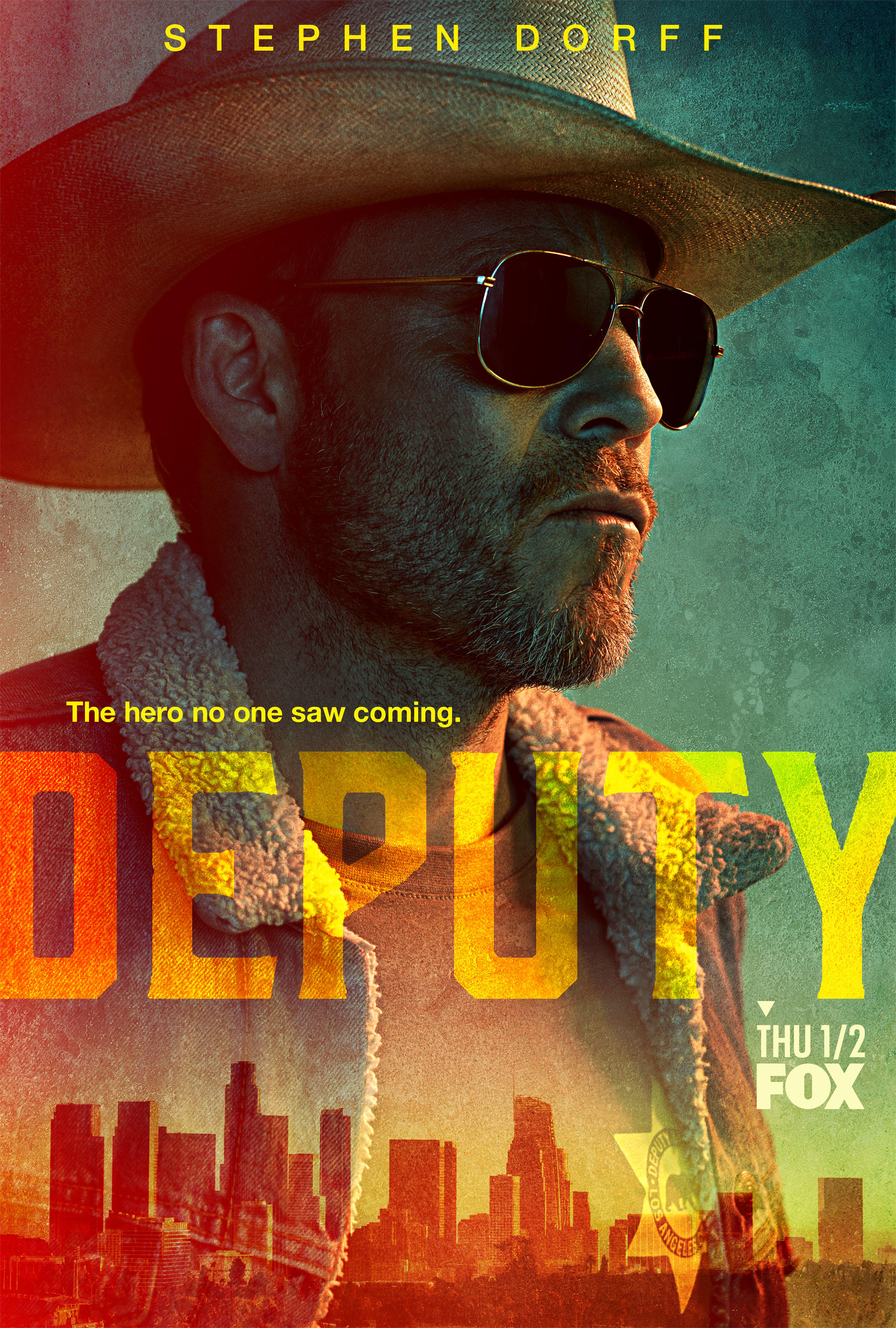 Poster for the show Deputy, as seen on Fox