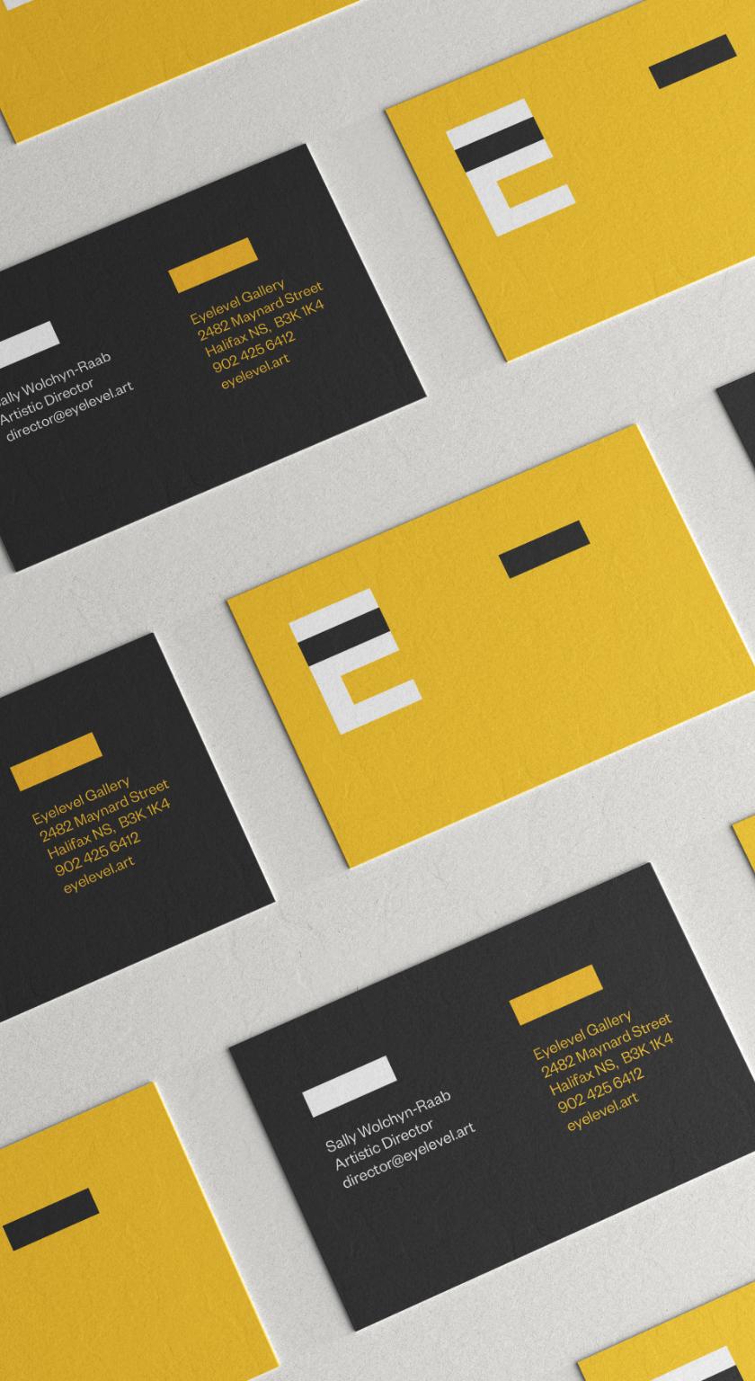 Eyelevel branding homepage display
