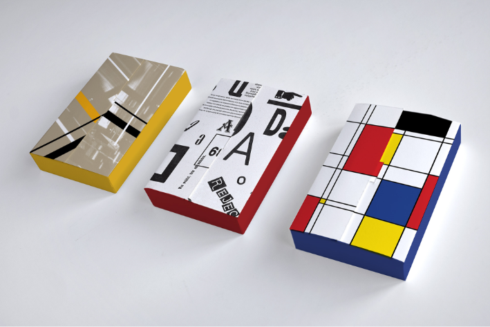 Modernism 3D game boxes
