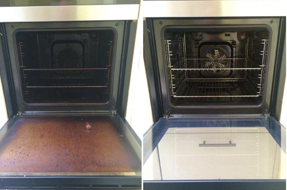 Single Oven Before And After