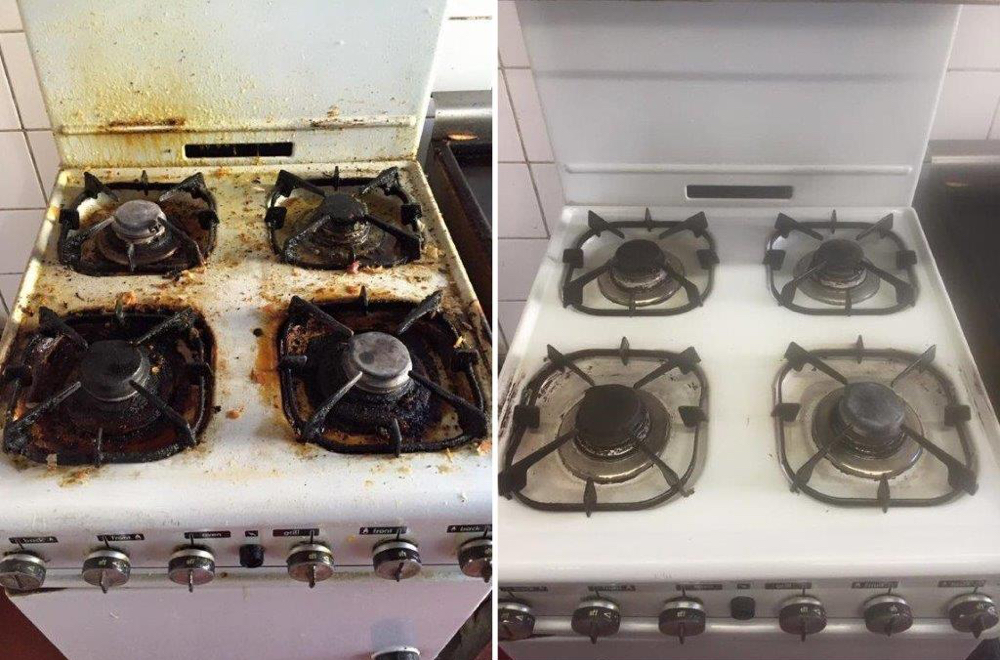 Gas Hob Before And After