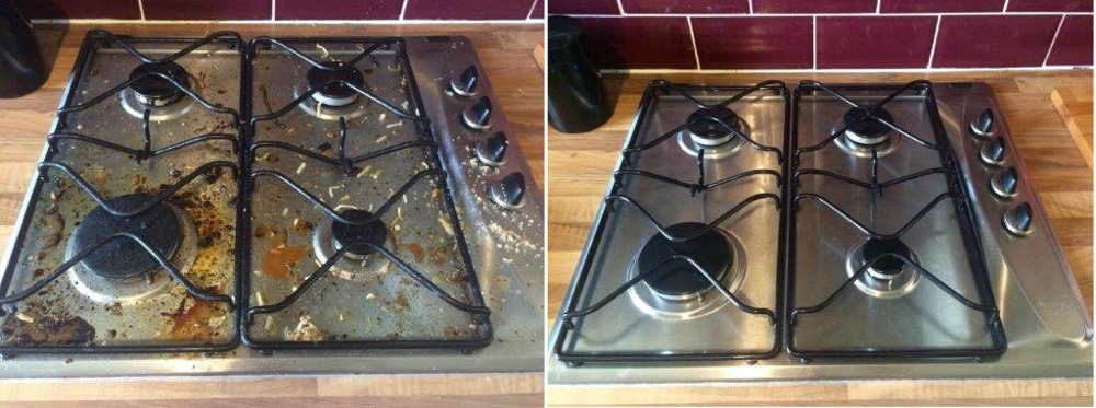 Silver Hob Before And After