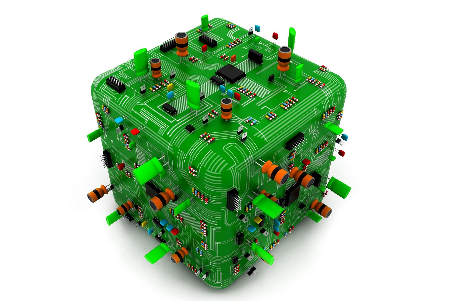 Cubed Circuit Board