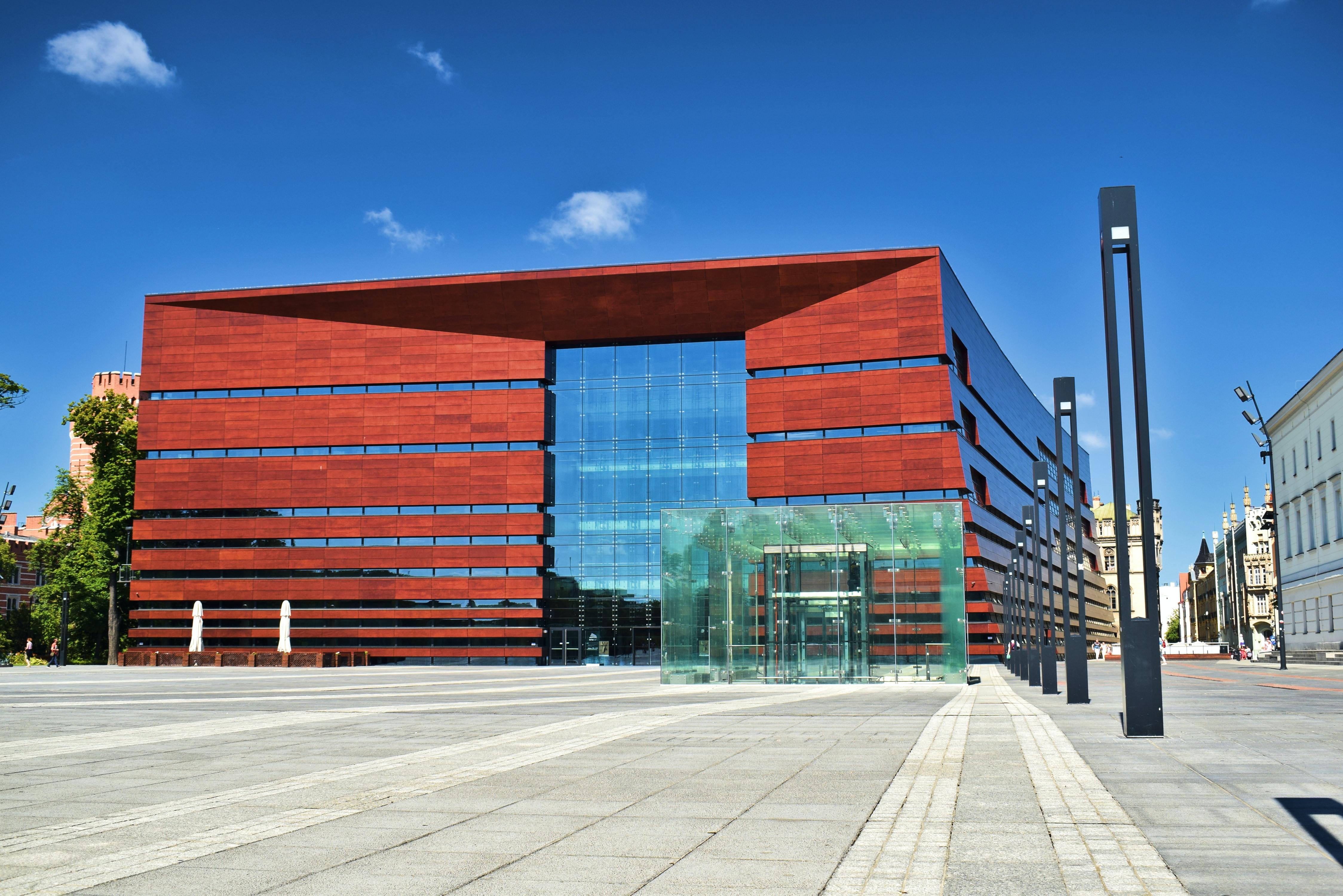 Modern Enterprise Building