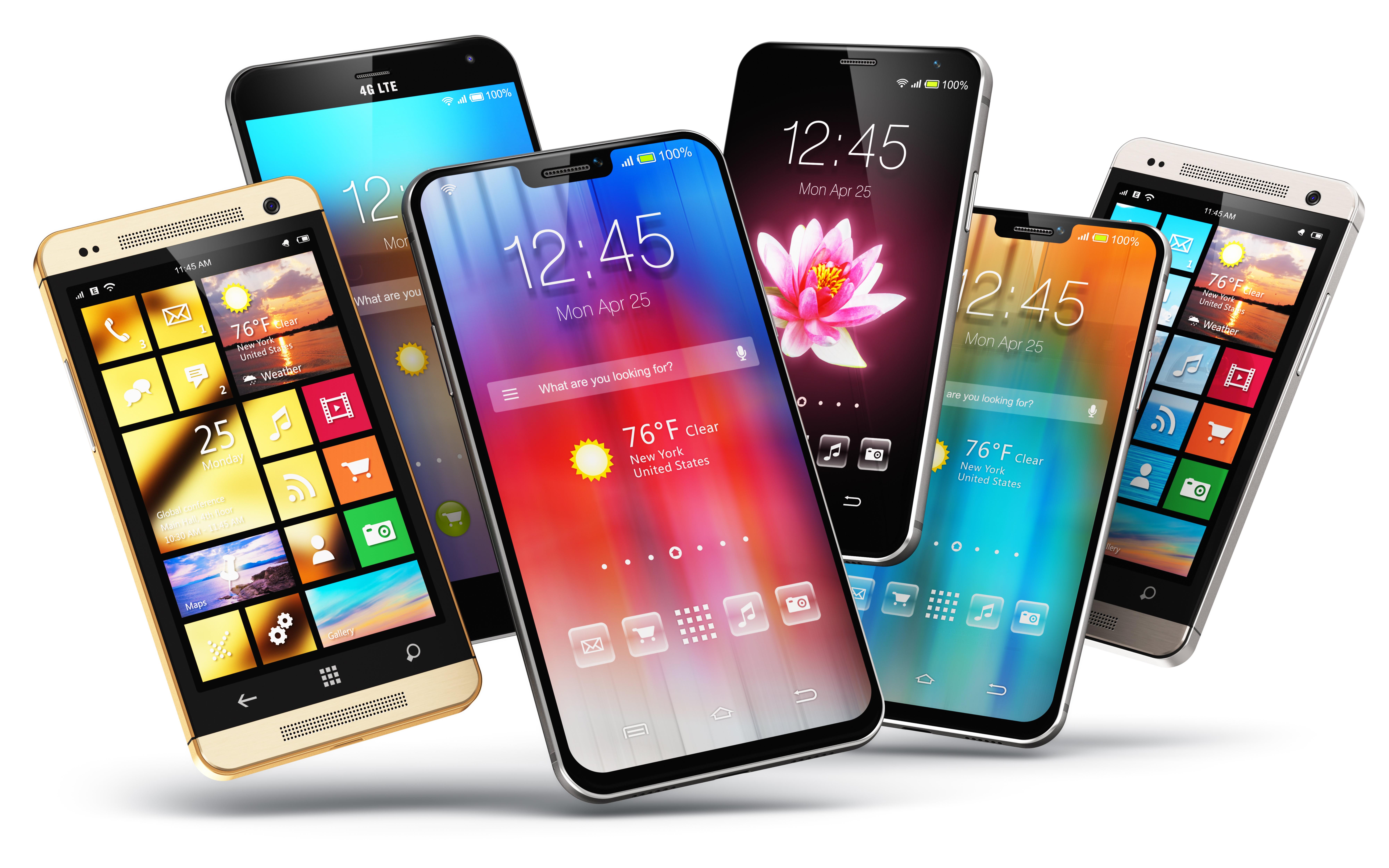 Multiple Smartphones