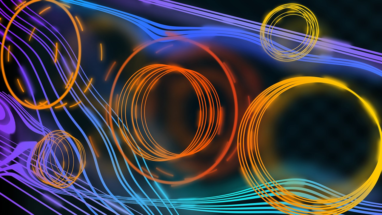 Designed Image with Circles