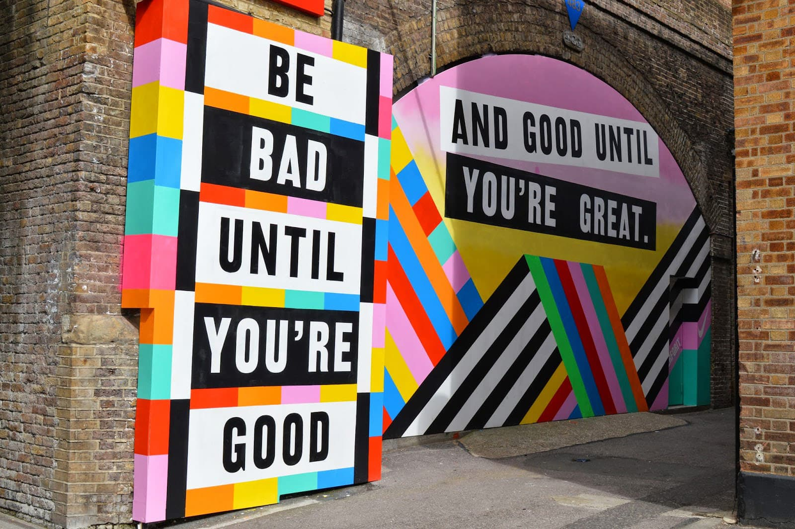 Be bad until you're good, 2015