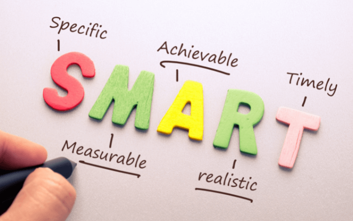In this blog post, Goals Marketing will teach you how to set SMART Goals. Goals are great -- they help us prove how effective we are, keep us focused, and push us to be better. The thing is, though, goals are totally useless if they're not grounded in reality. That's why it's critical to set SMART Goals: Specific Measurable Attainable Realistic Time-bound. If you're ready to use SMART goals for marketing that really work, read on!