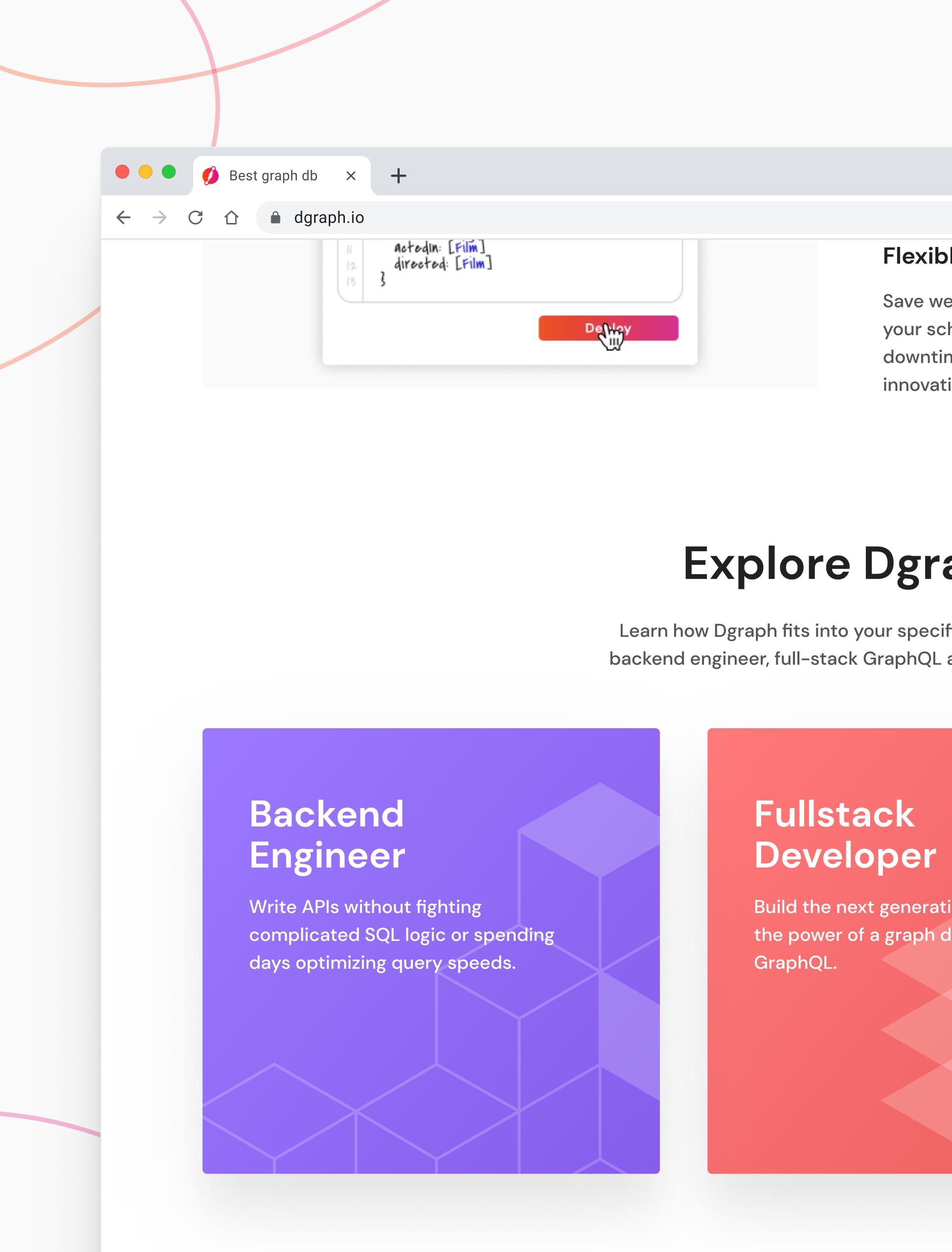 Dgraph Homepage