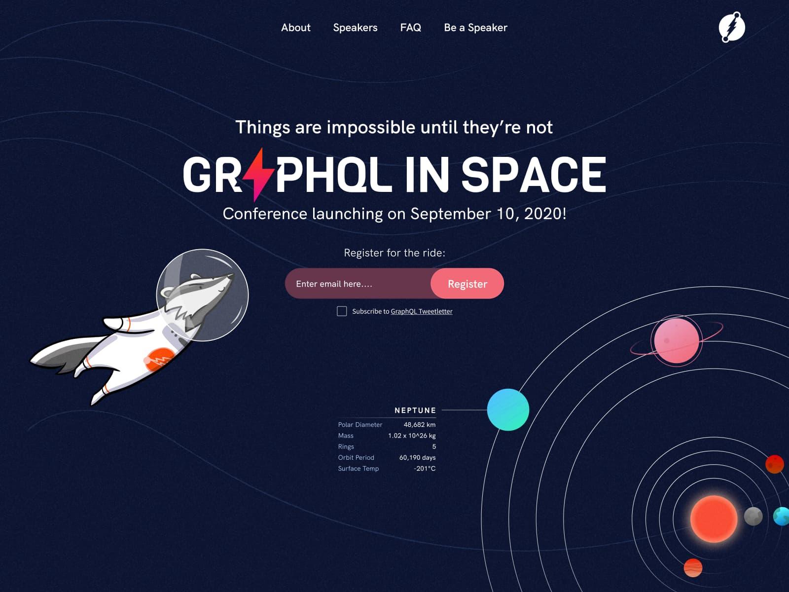 graphql in space hero