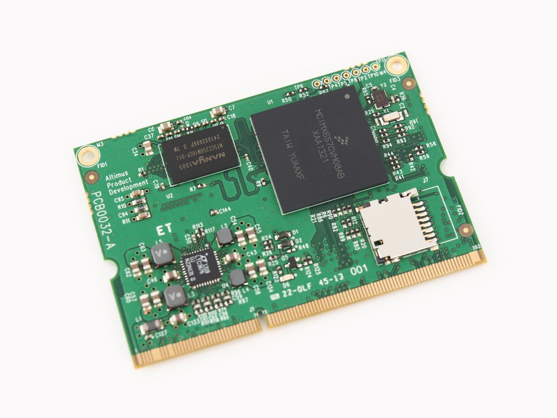 The Altimus NXP i.MX6 ARM Cortex A9 (single core) on a plain white background.