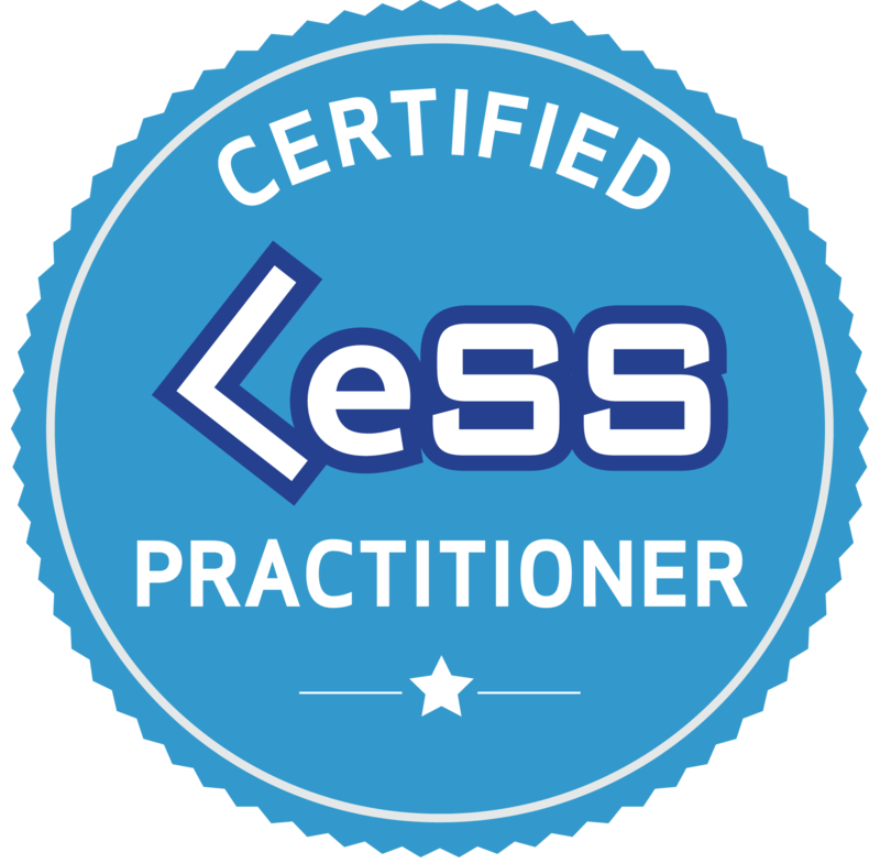 Large-Scale Scrum – Certified LeSS Practitioner