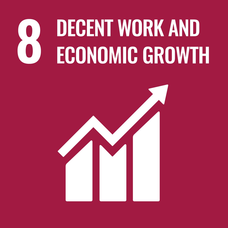 SDG 8 Recent work and economic growth