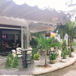 bán bạt mái xếp - lắp đặt mái hiên che di động tại Phú Yên