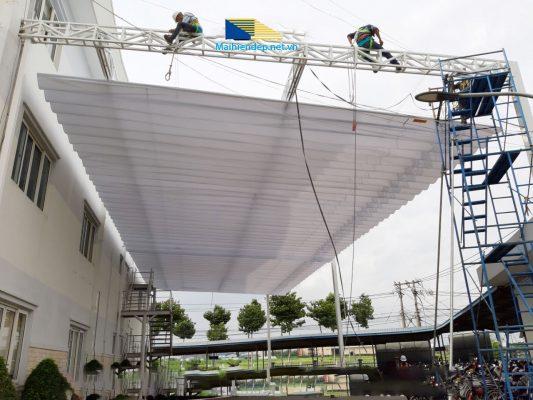 Dịch vụ chuyên cung cấp và lắp đặt mái xếp di động tại Đồng Nai