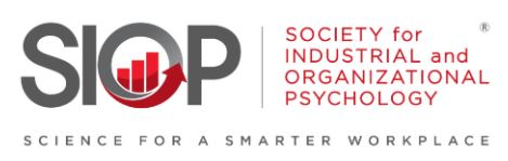 society-for-industrial-and-organizational-psychology